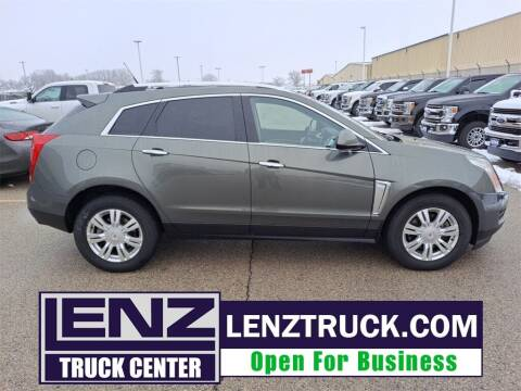 2013 Cadillac SRX for sale at LENZ TRUCK CENTER in Fond Du Lac WI