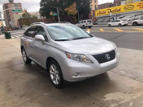 2010 Lexus RX 350 for sale at Sylhet Motors in Jamacia NY