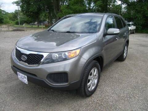 2011 Kia Sorento for sale at HALL OF FAME MOTORS in Rittman OH