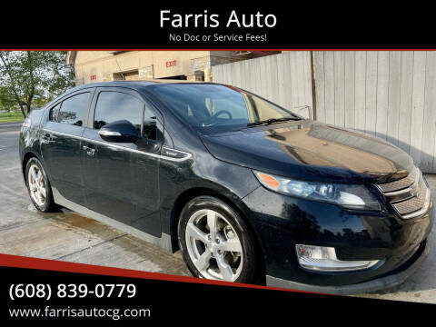 2013 Chevrolet Volt for sale at Farris Auto - Main Street in Stoughton WI