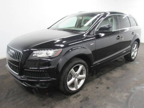 2014 Audi Q7 for sale at Automotive Connection in Fairfield OH