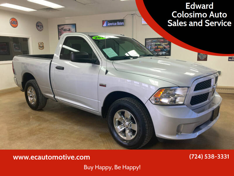 2019 RAM Ram Pickup 1500 Classic for sale at Edward Colosimo Auto Sales and Service in Evans City PA