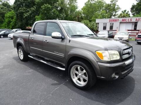 2005 Toyota Tundra for sale at DONNY MILLS AUTO SALES in Largo FL