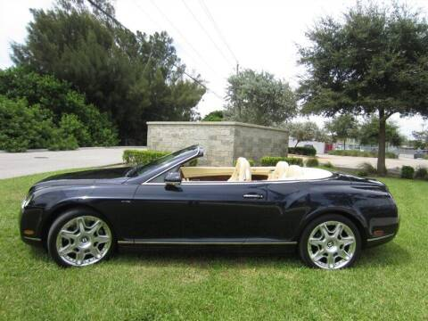 2009 Bentley Continental for sale at Auto Sport Group in Delray Beach FL