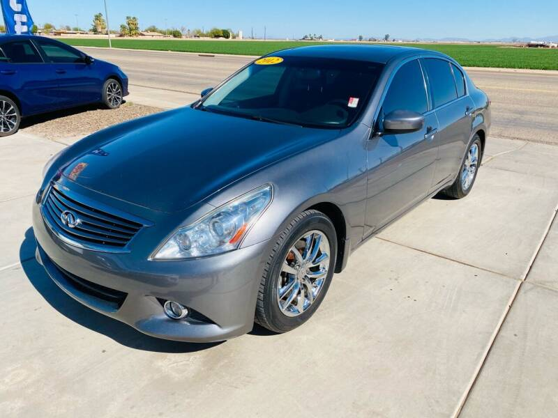2012 Infiniti G37 Sedan for sale at A AND A AUTO SALES in Gadsden AZ