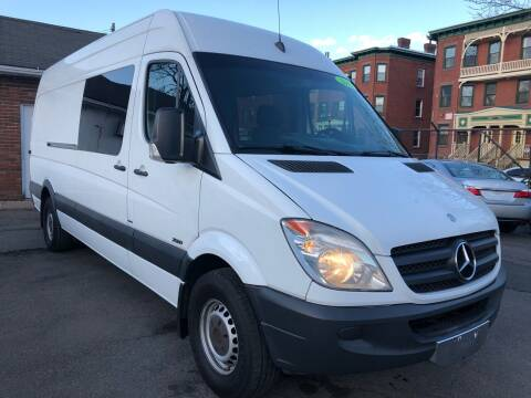 2012 Mercedes-Benz Sprinter Cargo for sale at James Motor Cars in Hartford CT