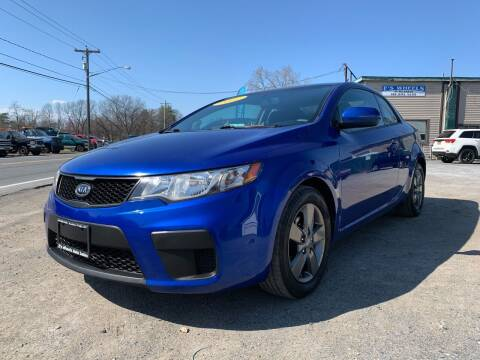 2012 Kia Forte Koup for sale at E's Wheels Auto Sales in Hudson Falls NY