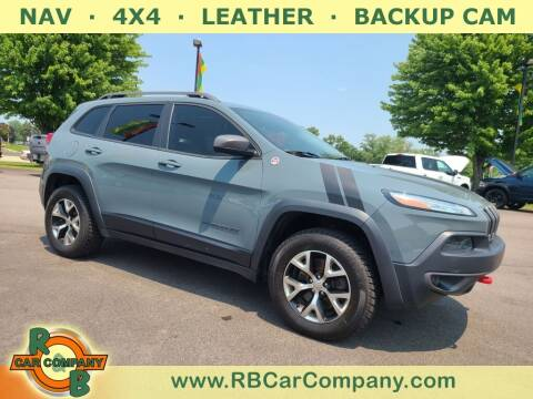 2014 Jeep Cherokee for sale at R & B Car Company in South Bend IN