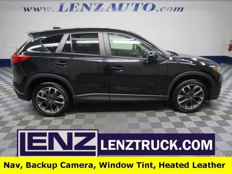 2016 Mazda CX-5 for sale at LENZ TRUCK CENTER in Fond Du Lac WI