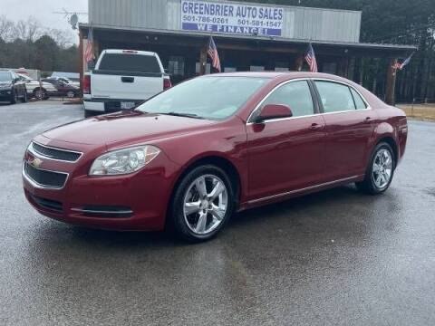 2011 Chevrolet Malibu for sale at Greenbrier Auto Sales in Greenbrier AR
