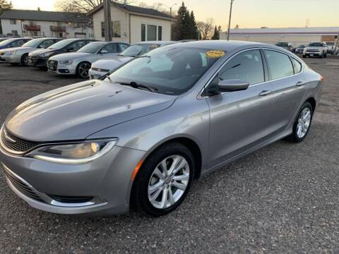 2016 Chrysler 200 for sale at CHRISTIAN AUTO SALES in Anoka MN