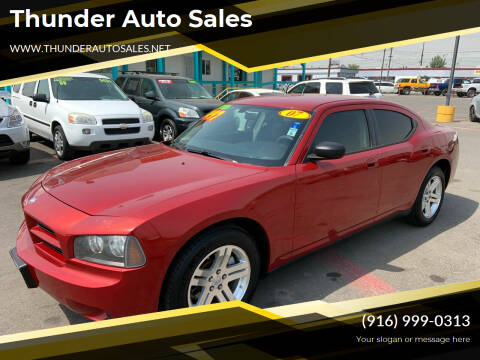 2007 Dodge Charger for sale at Thunder Auto Sales in Sacramento CA