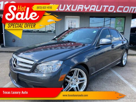 2008 Mercedes-Benz C-Class for sale at Texas Luxury Auto in Cedar Hill TX