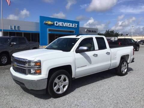 2015 Chevrolet Silverado 1500 for sale at LEE CHEVROLET PONTIAC BUICK in Washington NC