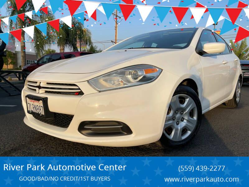2015 Dodge Dart for sale at River Park Automotive Center in Fresno CA