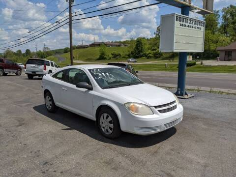2007 Chevrolet Cobalt for sale at Route 22 Autos in Zanesville OH