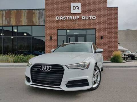 2016 Audi A6 for sale at Dastrup Auto in Lindon UT