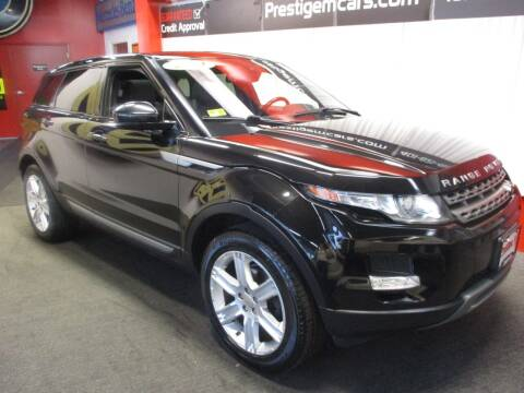 2014 Land Rover Range Rover Evoque for sale at Prestige Motorcars in Warwick RI