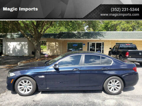 2014 BMW 5 Series for sale at Magic Imports in Melrose FL