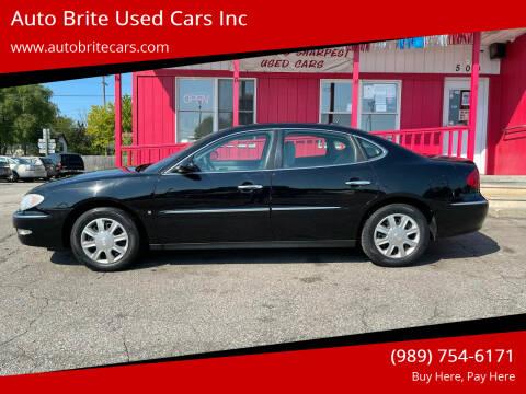 2006 Buick Allure for sale at Auto Brite Used Cars Inc in Saginaw MI