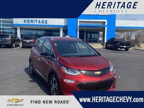 2020 Chevrolet Bolt EV for sale at HERITAGE CHEVROLET INC in Creek MI