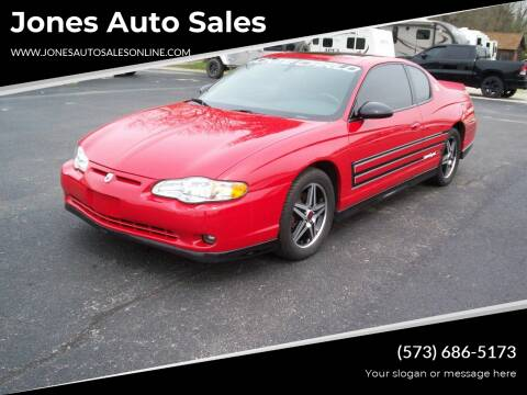 2004 Chevrolet Monte Carlo for sale at Jones Auto Sales in Poplar Bluff MO