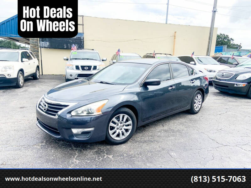 2013 Nissan Altima for sale at Hot Deals On Wheels in Tampa FL