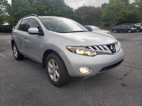 2009 Nissan Murano for sale at Atlanta Great Cars in Snellville GA