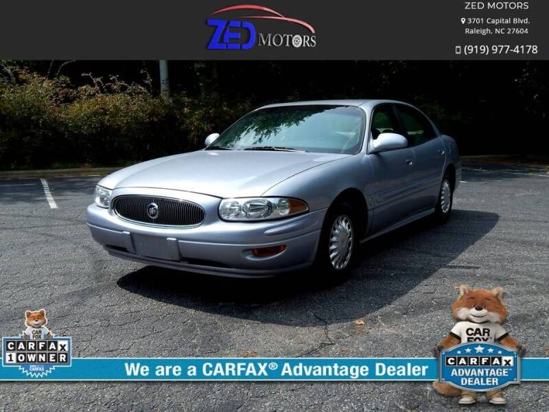 2004 Buick LeSabre for sale at Zed Motors in Raleigh NC