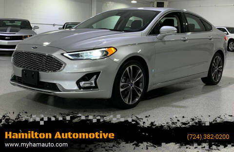 2019 Ford Fusion for sale at Hamilton Automotive in North Huntingdon PA