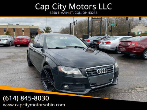 2011 Audi A4 for sale at Cap City Motors LLC in Columbus OH