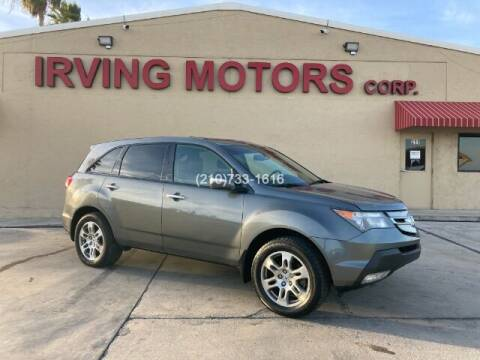 2009 Acura MDX for sale at Irving Motors Corp in San Antonio TX