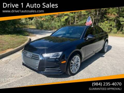 2017 Audi A4 for sale at Drive 1 Auto Sales in Wake Forest NC