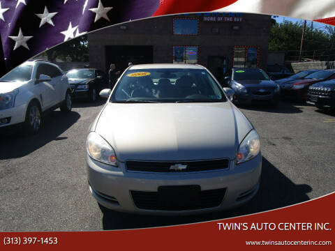 2008 Chevrolet Impala for sale at Twin's Auto Center Inc. in Detroit MI