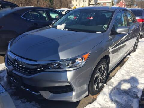 2017 Honda Accord for sale at MELILLO MOTORS INC in North Haven CT