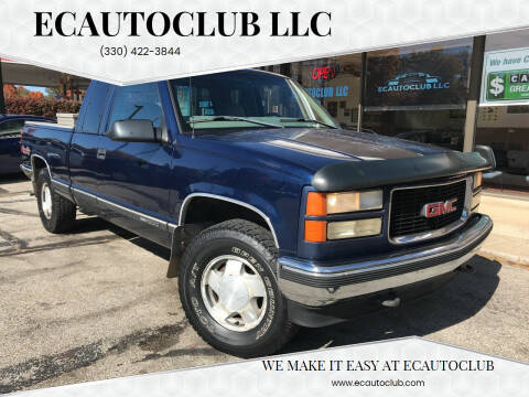 1998 GMC Sierra 1500 for sale at ECAUTOCLUB LLC in Kent OH