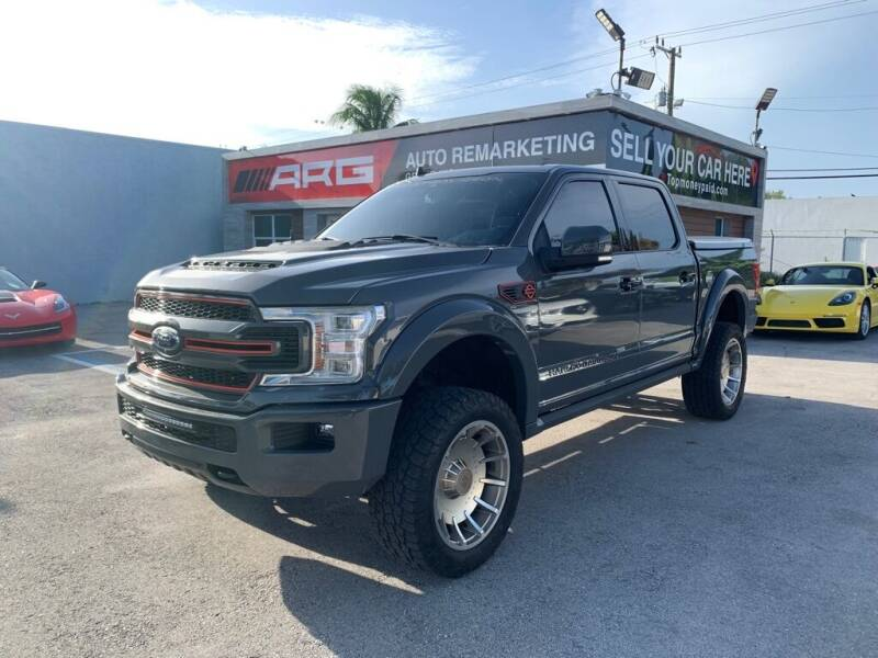 2019 Ford F-150 for sale at Auto Remarketing Group in Pompano Beach FL