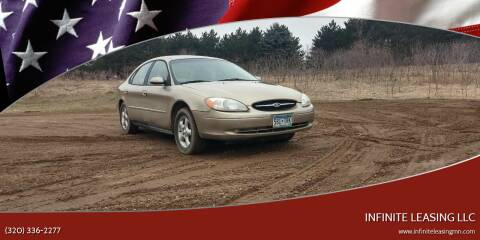 2001 Ford Taurus for sale at Infinite Leasing LLC in Lastrup MN