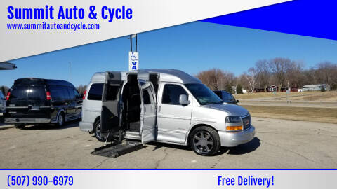 2014 GMC Savana Cargo for sale at Summit Auto & Cycle in Zumbrota MN