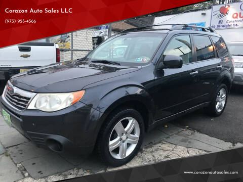 2010 Subaru Forester for sale at Corazon Auto Sales LLC in Paterson NJ