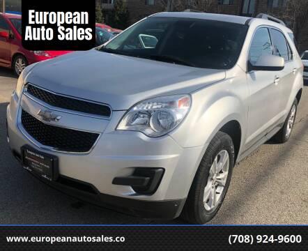 2013 Chevrolet Equinox for sale at European Auto Sales in Bridgeview IL