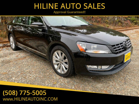 2012 Volkswagen Passat for sale at HILINE AUTO SALES in Hyannis MA