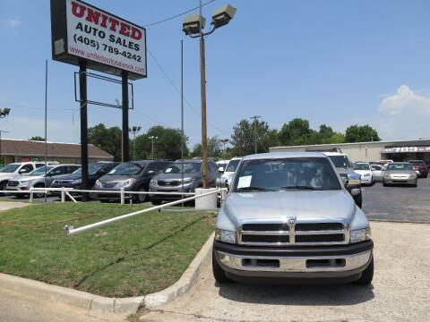 1995 Dodge Ram Pickup 1500 for sale at United Auto Sales in Oklahoma City OK