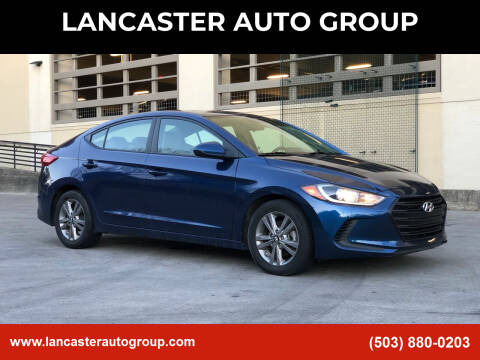 2017 Hyundai Elantra for sale at LANCASTER AUTO GROUP in Portland OR