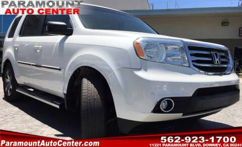 2012 Honda Pilot for sale at PARAMOUNT AUTO CENTER in Downey CA