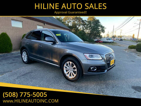 2014 Audi Q5 for sale at HILINE AUTO SALES in Hyannis MA