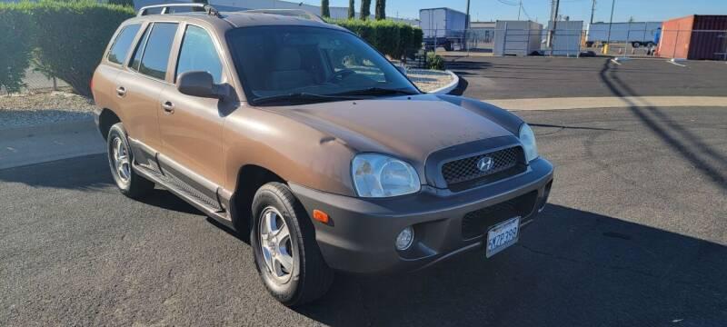 2004 Hyundai Santa Fe for sale at The Auto Barn in Sacramento CA