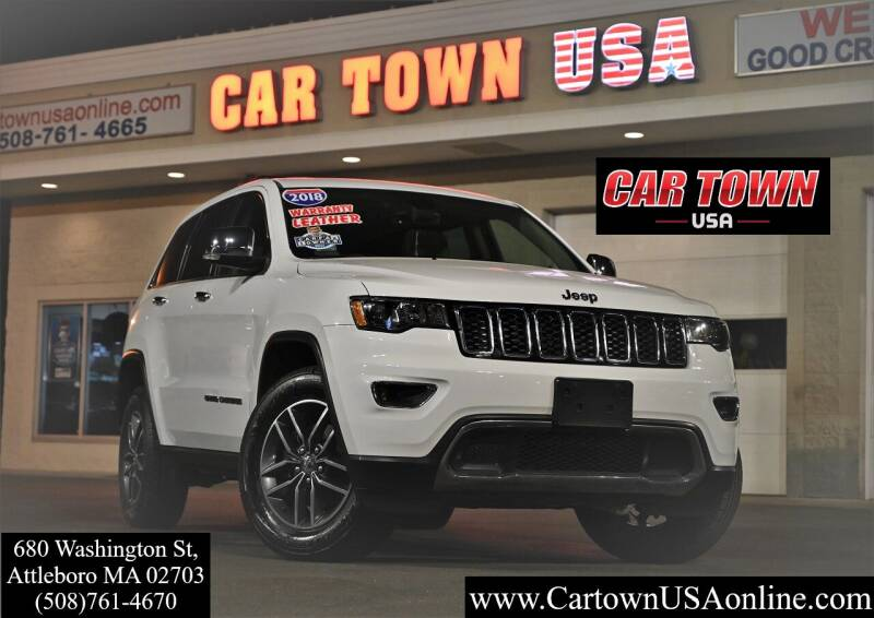 2018 Jeep Grand Cherokee for sale at Car Town USA in Attleboro MA