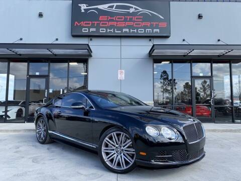 2015 Bentley Continental for sale at Exotic Motorsports of Oklahoma in Edmond OK