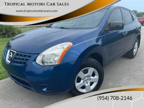 2010 Nissan Rogue for sale at Tropical Motors Car Sales in Deerfield Beach FL